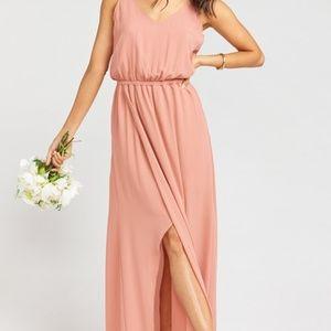 Kendall Maxi Dress Rustic Mauve